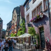 Ciel Strasbourg paysage Riquewihr