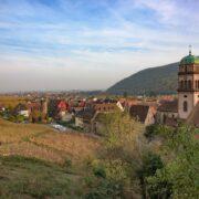 Ciel Strasbourg paysage Alsace