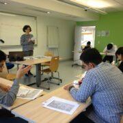 Ciel Strasbourg étudiants salle de classe